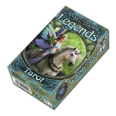 Tarot Legends. 78 cartas a todo color (Español)