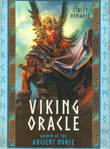 Libro mas Cartas del Tarot de Viking Oracle (Versión Ingles)