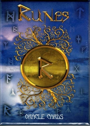 Pack Libro mas Cartas Runas Oracle Cards